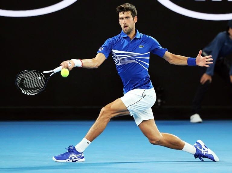 Tennis - Australian Open - Second Round - Melbourne Park, Melbourne, Australia, January 17, 2019. Serbia's Novak ...