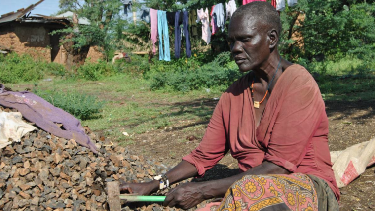 Crippled by Lake Baringo's fluoride waters, women struggle to survive